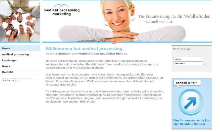 medical processing