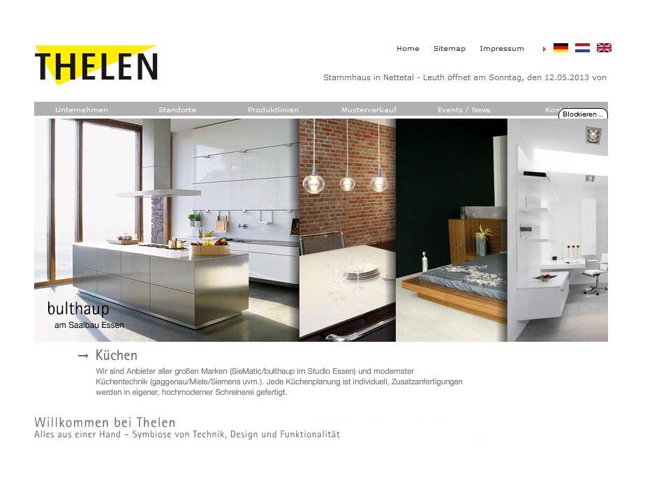 Küchen Thelen schön küchen thelen ideen innenarchitektur kollektion