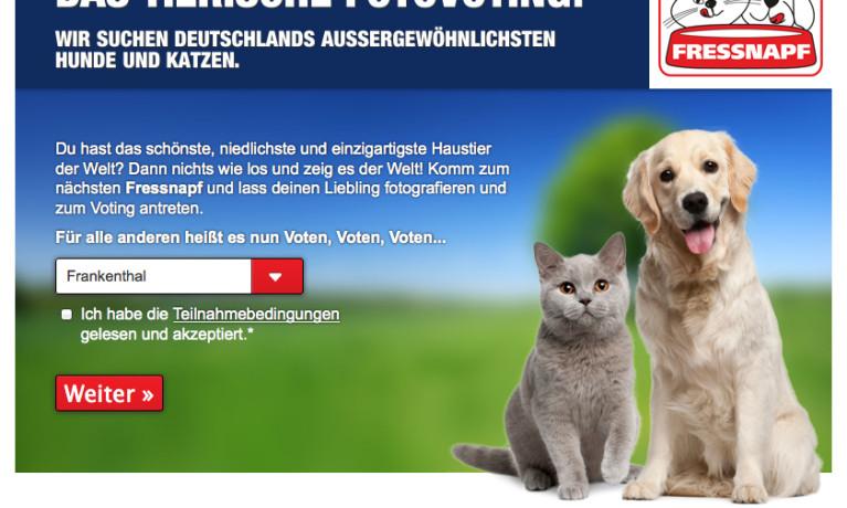 Fressnapf – FotovotingApp