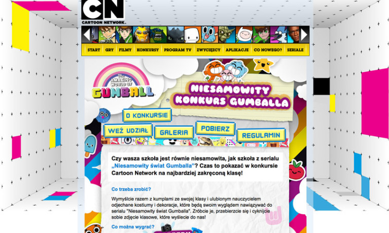 Cartoon Netzwork – Gumball